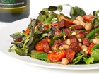 Cannellini Bean Salad with Roast Cherry Tomatoes & Chorizo