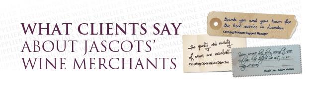 Wine Merchant Testimonials