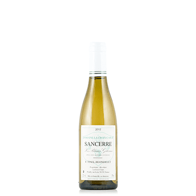 Sancerre 'Blancs Gateaux' 2012, Domaine Tinel-Blondelet, Loire Valley, France (Half Bottle)