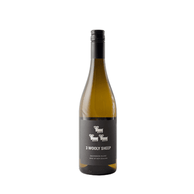 3 Wooly Sheep Sauvignon Blanc 2013, Marlborough, New Zealand