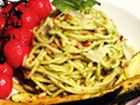 Spaghetti with Avocado Pesto