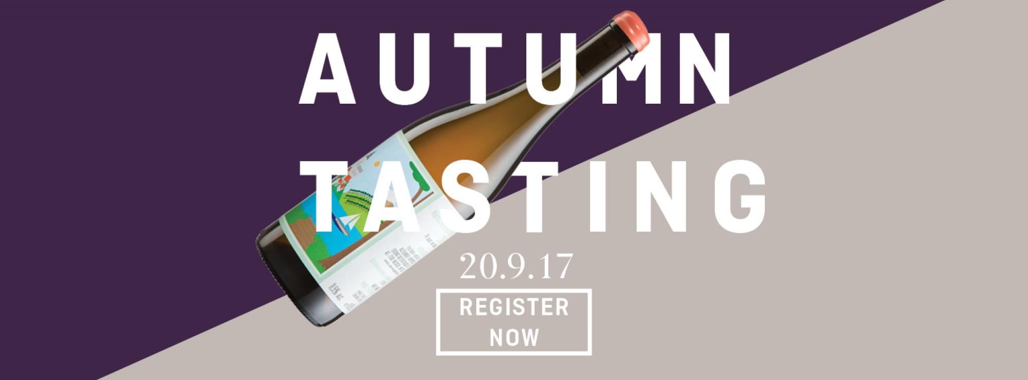 Autumn Trade Wine Tasting
