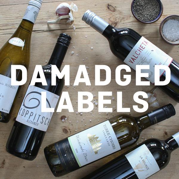 Damaged Labels