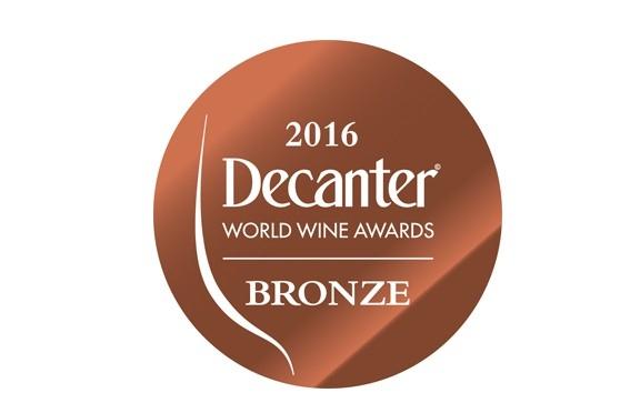 Decanter Awards 2016 Bronze