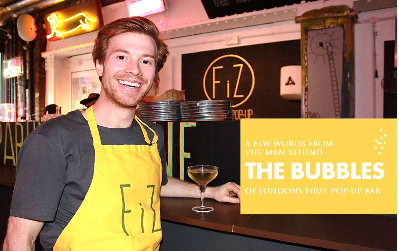 London's first ever sparkling pop-up bar