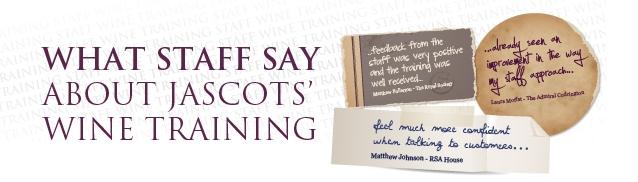 Wine Training Testimonials