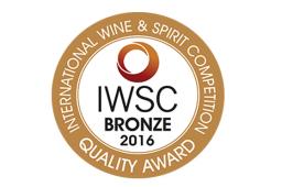 IWSC 2016 Bronze