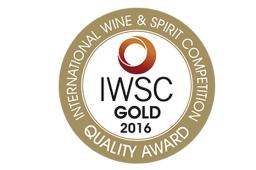 IWSC 2016 Gold