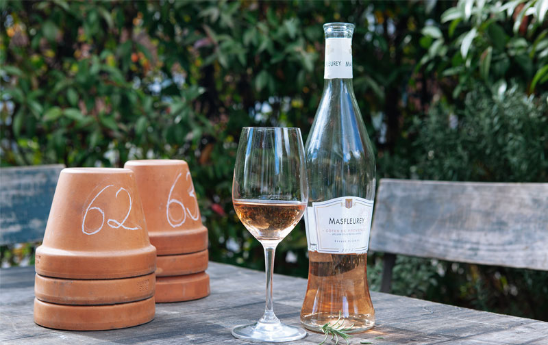 Enjoy the taste of Provence this long weekend with 10% off Mas Fleurey rosé
