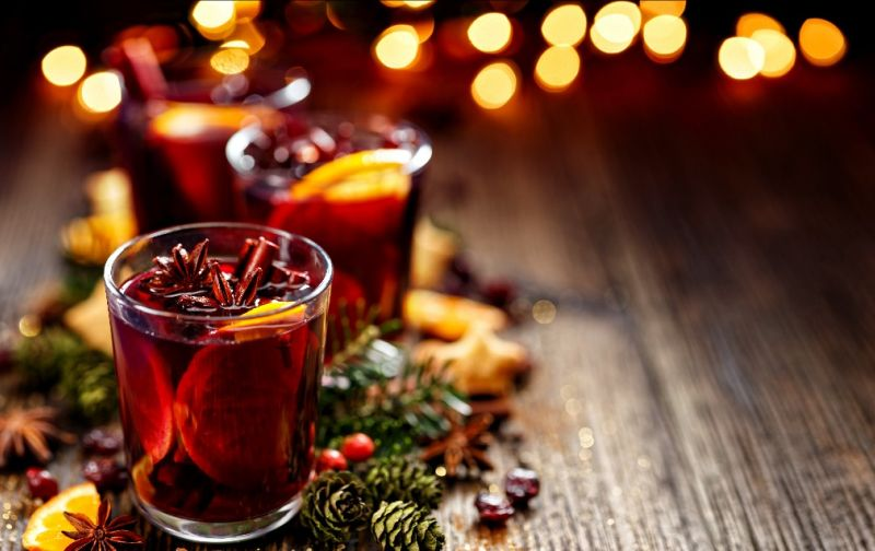 tis' the season for mulled wines and winter warmers