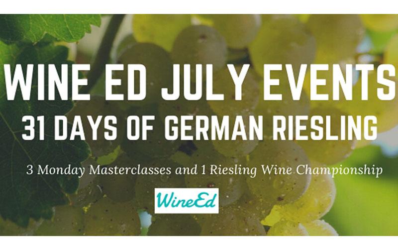 WineEd Riesling Wine Championship